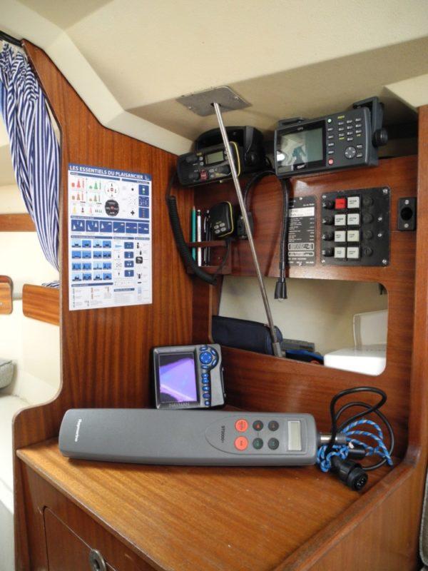 Triskell3 Navigation Equipements 1 - VOILIER ETAP 23