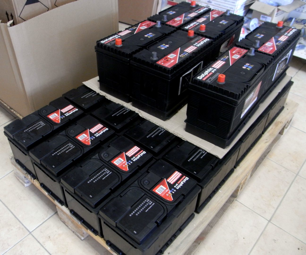 accastillage batteries - Magasin (d'accastillage)