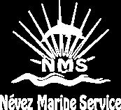 Logo Nevez Marine Service Blanc - Névez Marine Service distributeur POSEIDON