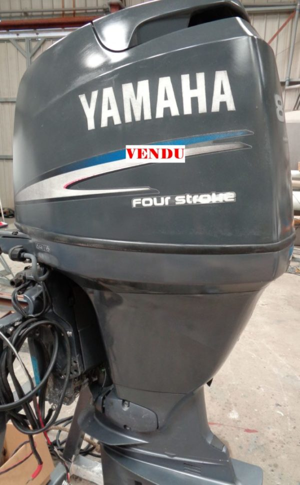 YAMAHA F80.281.1 - MOTEUR YAMAHA F80 injection occasion